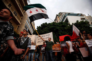 Syria's uprising creeps across Lebanese border | Coveting Freedom | Scoop.it