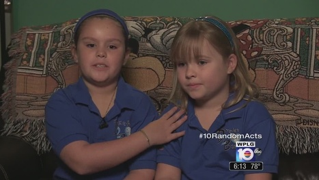 Sisters pay-it-forward at young age - Local 10 | Acts of Kindness | Scoop.it