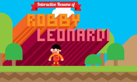Parcourez le CV interactif de Robby à la manière d'un jeu vidéo | Emploi et Recrutement | Scoop.it