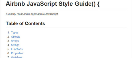 20 More Docs and Guides for Front-End Developers | Juanmi.Rua | Scoop.it