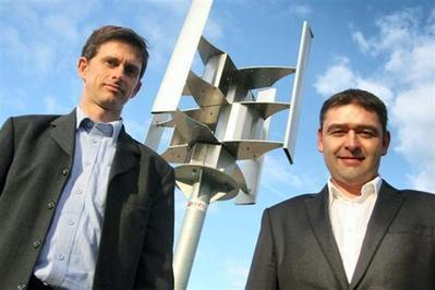 [innovation] Ils ont réinventé l'éolienne domestique - Axéole | Immobilier | Scoop.it