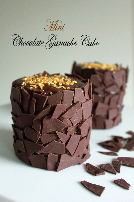 #Recipe / Mini Chocolate Ganache Cake | Hospitality | Scoop.it