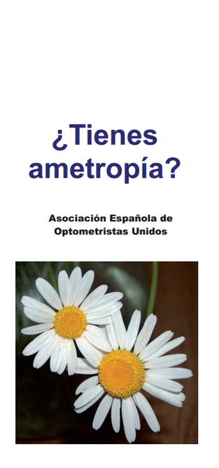 Campaña AEOPTOMETRISTAS 2014 ¿Tienes Ametropía? | Salud Visual 2.0 | Scoop.it
