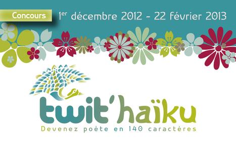 Un concours littéraire et poétique sur Twitter : Twit'haïku | psychologie psychanalyse | Scoop.it