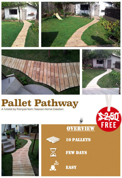 DIY Tutorial: Pallet Pathway   innovation - critical for success   Scoop.it