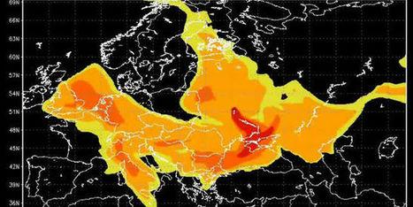 La progression du nuage de Tchernobyl en une minute | Chronique d'un pays où il ne se passe rien... ou presque ! | Scoop.it