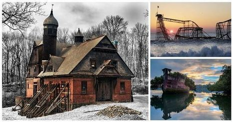 20 Hauntingly Beautiful Images of Abandoned Places Around The World | Travel | Scoop.it
