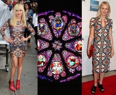 Naomi Watts et Bella Throne lancent les robes vitraux d'Alexander McQueen. A qui le tour ? | Vitraux | Scoop.it