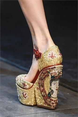 Yea or Nay: Dolce&Gabbana Fall 2013 Shoes | Best of SHOE BLOGGERS | Scoop.it