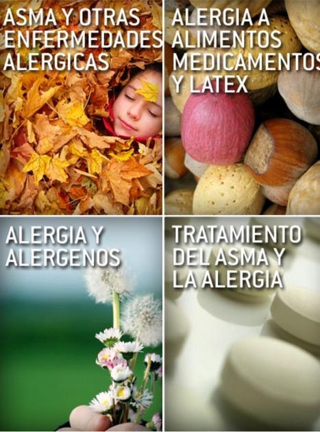 Asma y otras enfermedades alérgicas; Alergia y alérgenos; Alergia a alimentos, medicamentos y látex; Tratamiento del asma y la alergia. | Información a pacientes | Scoop.it