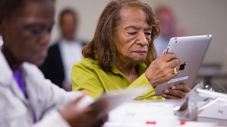 Helping Low-Income Seniors Build A Social Web Online | KPLU.org | Social Media Advancement and Mangement | Scoop.it