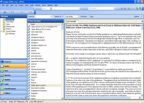 How I work with my material- NVivo   The Resident Judge of Port ...   Qualitative & Quantitative Data Analysis & Management   Scoop.it