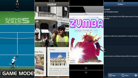 iPad Apps of the Week: Viator, Stick Tennis, and More | tennis coaching | Scoop.it