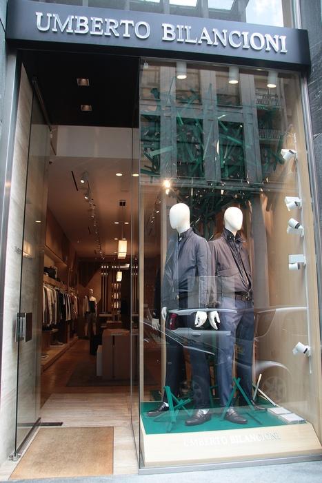 Umberto Bilancioni opens the first mono-brand boutique in Milan | Le Marche & Fashion | Scoop.it