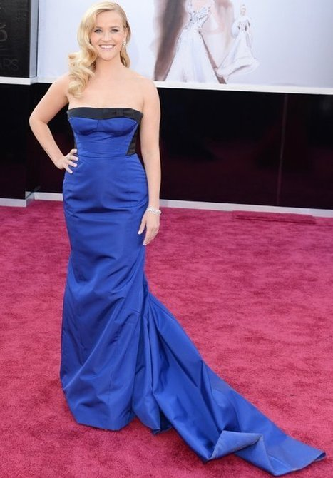 Reese Witherspoon Channels Old Hollywood Glam | Celebrity Hairstyle | Scoop.it