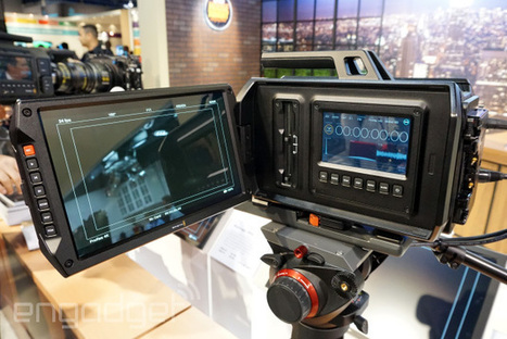 Blackmagic's 4K URSA camera features massive 10-inch 1080p display, ships in June for $6,000 | AiLibrary | Scoop.it
