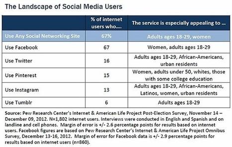 Social Network Demographics: Twitter, Pinterest, Instagram, Facebook | Twitter Stats, Strategies + Tips | Scoop.it