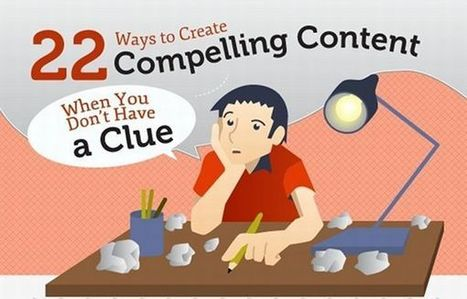 22 Ideas for Creating Irresistible Content [INFOGRAPHIC] | Curation Revolution | Scoop.it