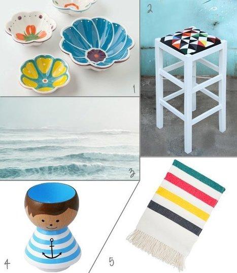 Happy Interior Blog: 5 Happy Inspirations: Nautical Homeware | Interior Design & Decoration | Scoop.it