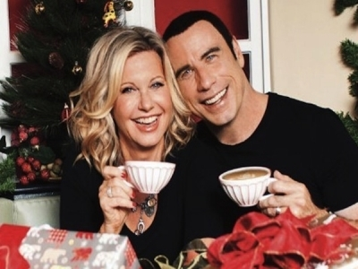 John Travolta and Olivia Newton-John Reunite For Christmas Album | Show Prep | Scoop.it