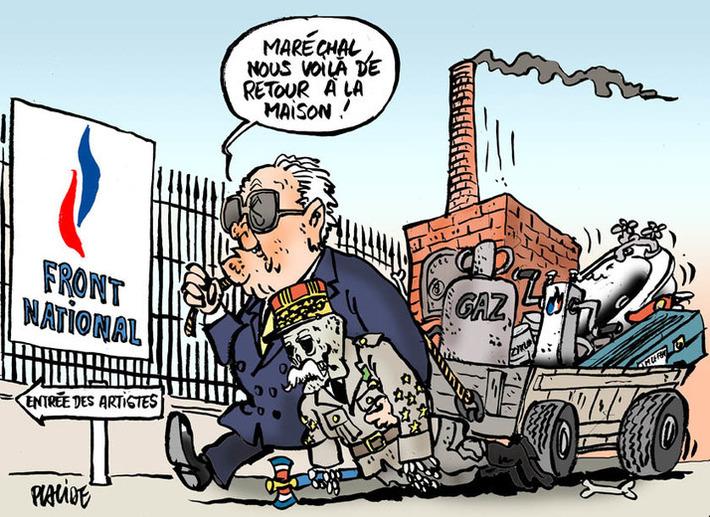 Le Pen confirmé President d'Honneur du FN par la justice | Baie d'humour | Scoop.it
