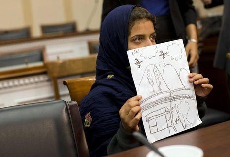 Nabila, 9 ans, raconte la guerre des drones au Congrès américain | Shabba's news | Scoop.it