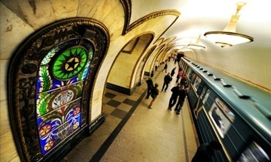 Moscow metro opens virtual library of Russian classical literature | E-kirjat | Scoop.it