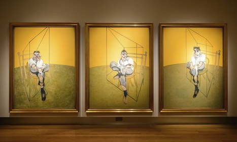Francis Bacon's painting of Lucian Freud is a portrait of two geniuses   The Contemporary Artworld and Painting   Scoop.it