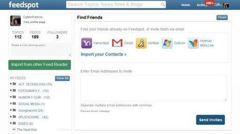 Feedspot incorpora algunas novedades   Redes Sociales_aal66   Scoop.it