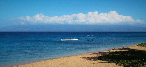 2016 April 26 - Out-rigging along Kaanapali Beach in Lahaina, Maui, Hawaii   ❀ hawaiibuzz ❀   Scoop.it