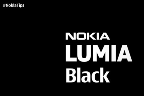 Nokia Black is out in the wild now! | NokiaTips | Scoop.it