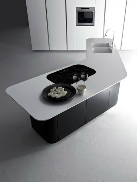 Elegant And Lux L'Evoluzione And Sinuousa Kitchen ~ Kitchen Design Ideas | Kuche Design | Scoop.it