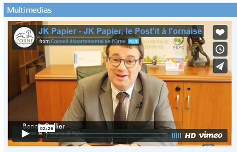 JK Papier (Orne/61) le post-it à l'Ornaise ! | L'Orne économique | Scoop.it