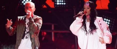 "Rihanna and Eminem Perform ""The Monster"" at 2014 MTV Movie Awards - I4U News 