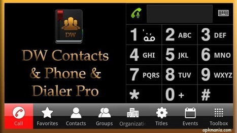 DW Contacts & Phone & Dialer v2.5.8.1-pro - Download Android Games | Android n Games | Scoop.it