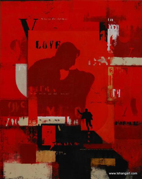 Tableau Delgado 158 - Love | Tableaux des artistes du hangART | Scoop.it