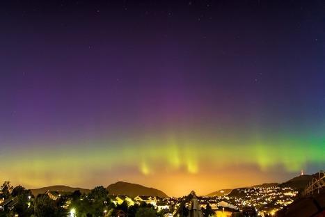 23 août : aurore boréale vue depuis Bergen - Norvège | Arctique et Antarctique | Scoop.it
