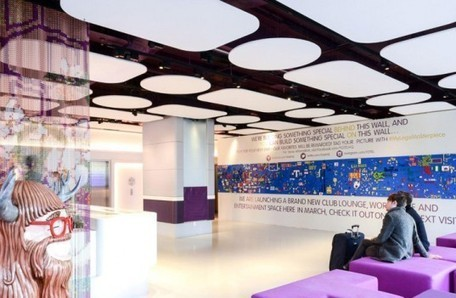 YOTEL's 30-ft-long Interactive LEGO Wall Invites Guests to Play | Inhabitat New York City | Creative Explorations | Scoop.it