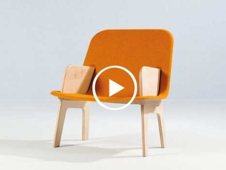 Stacked : le fauteuil malin qui se monte et se démonte en moins d'une minute (VIDEO) | Immobilier | Scoop.it