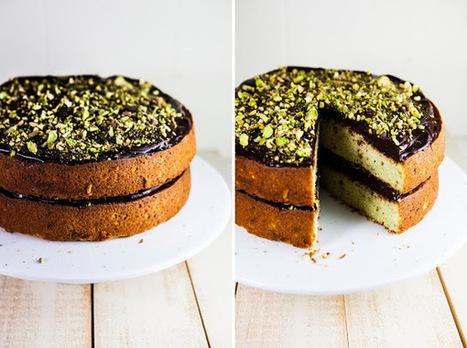 #RECIPE - Chocolate and Pistachio Cake   Chocolate   Scoop.it