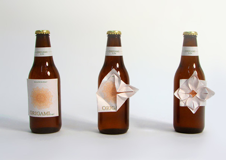 Origami Beer Label | Made with (and of) Paper | Scoop.it