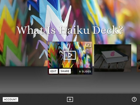 Promoting Visual Literacy with Haiku Deck | iLike iPad | Scoop.it
