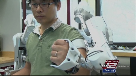 UT researchers develop physical therapy robot - KSAT San Antonio | Heron | Scoop.it