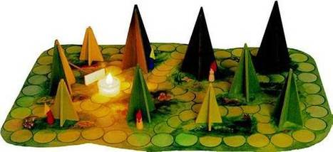 Shadows in the Woods: candlelit board-game for kids and adults | Gamified Classrooms | Scoop.it
