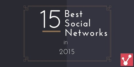 15 Viral Marketing Social Nets For 2015 via @jitsalunke | Startup Revolution | Scoop.it