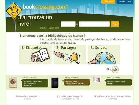 Le « bookcrossing » s'adapte au numérique - La Croix | L'édition numérique pour les pros | Scoop.it