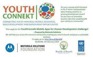Mobile App Challenge launched in Rwanda: Apply now! | Mobile Technology and Human Development | E-Agriculture | Scoop.it