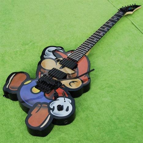Epic Super Mario Bros Electric Guitar | All Geeks | Scoop.it