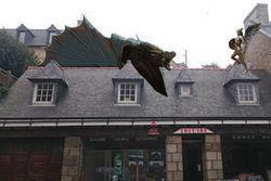 L'industrie c'est fou : un dragon géant en cuivre veut se poser sur un toit en Bretagne | Forge - Fonderie | Scoop.it