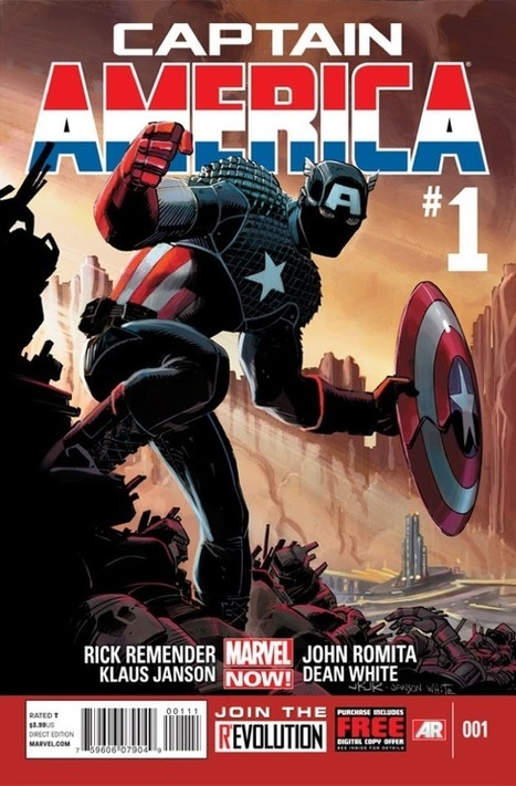 "No World War II Flashbacks, More ""Giant Huge Ideas"": The Marvel Now! Captain America | Comic Books | Scoop.it"
